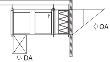 Suspended Indoor Bananza Air Handler