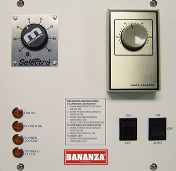 Standard Discharge Control Remote